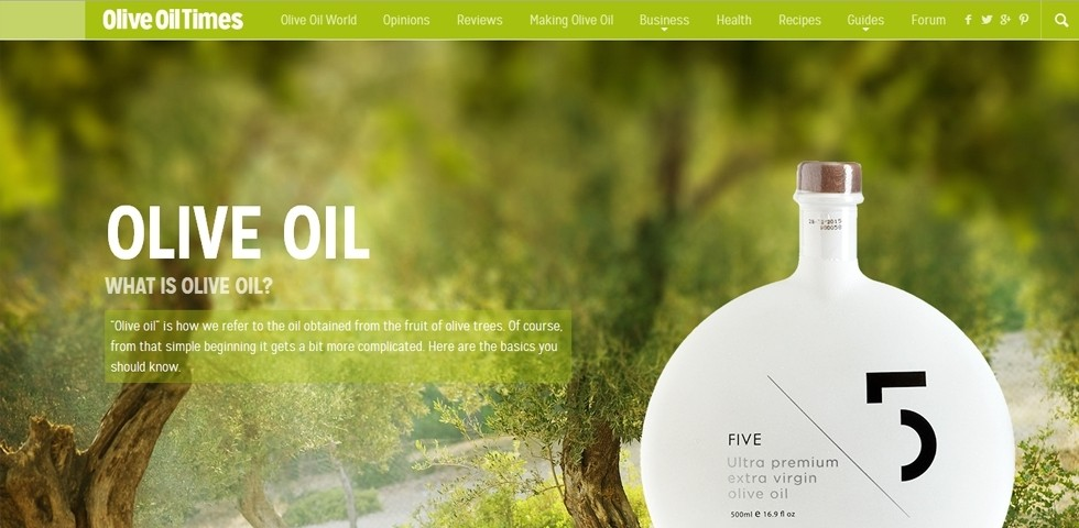 Olive Oil Times – What is Olive Oil?