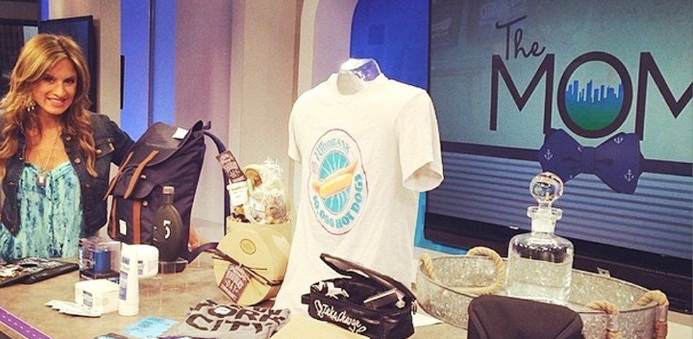 Father's Day gift segment on PIX 11 morning news
