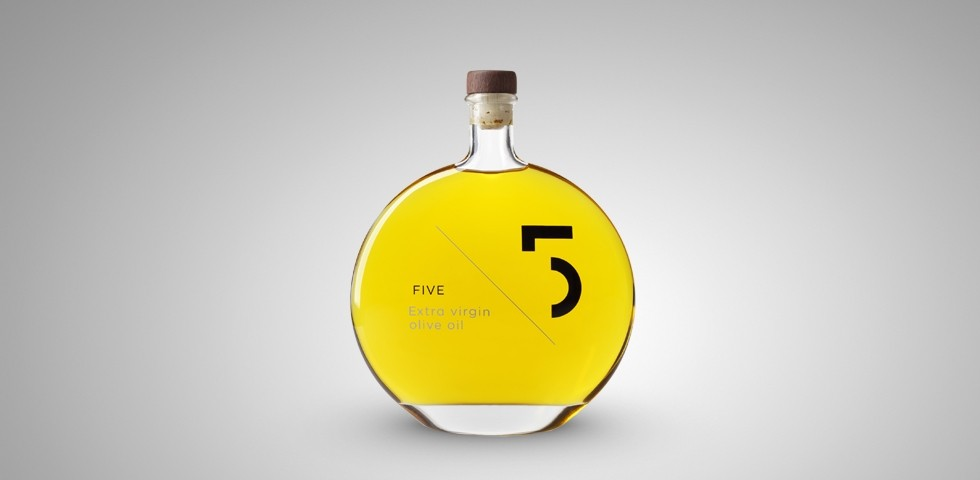 FIVE Extra virgin olive oil – 4th perspective